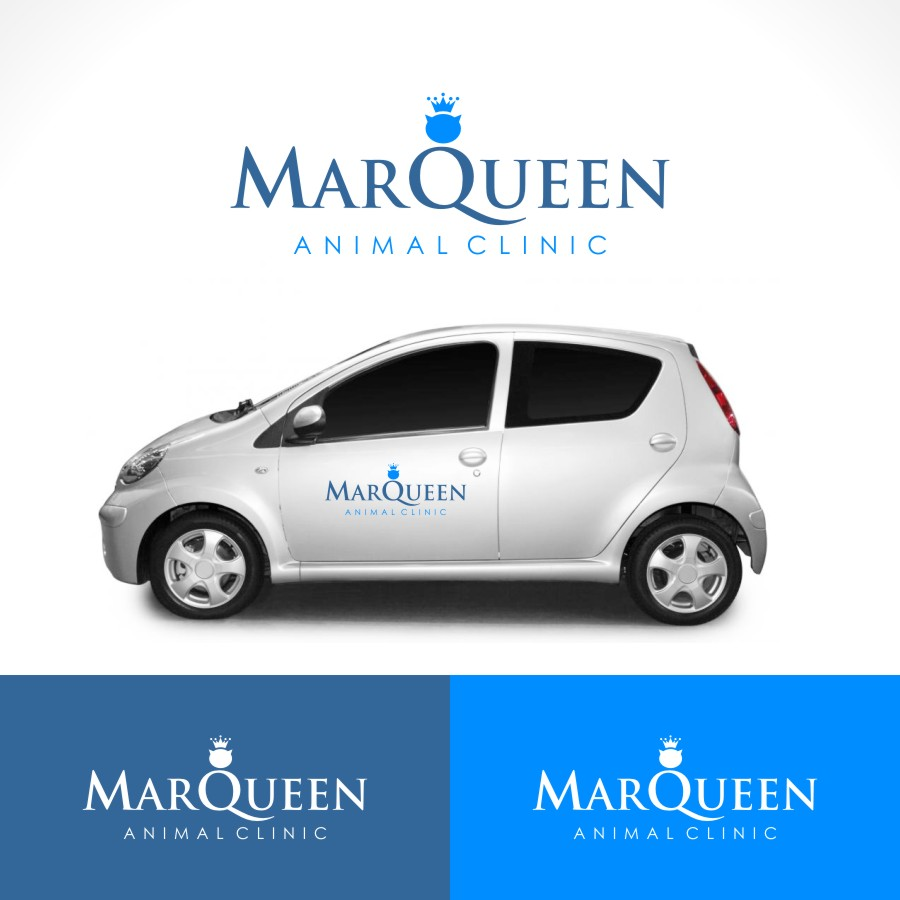 Logo Design by Private User - Entry No. 60 in the Logo Design Contest Fun Logo Design for MarQueen Animal Clinic.