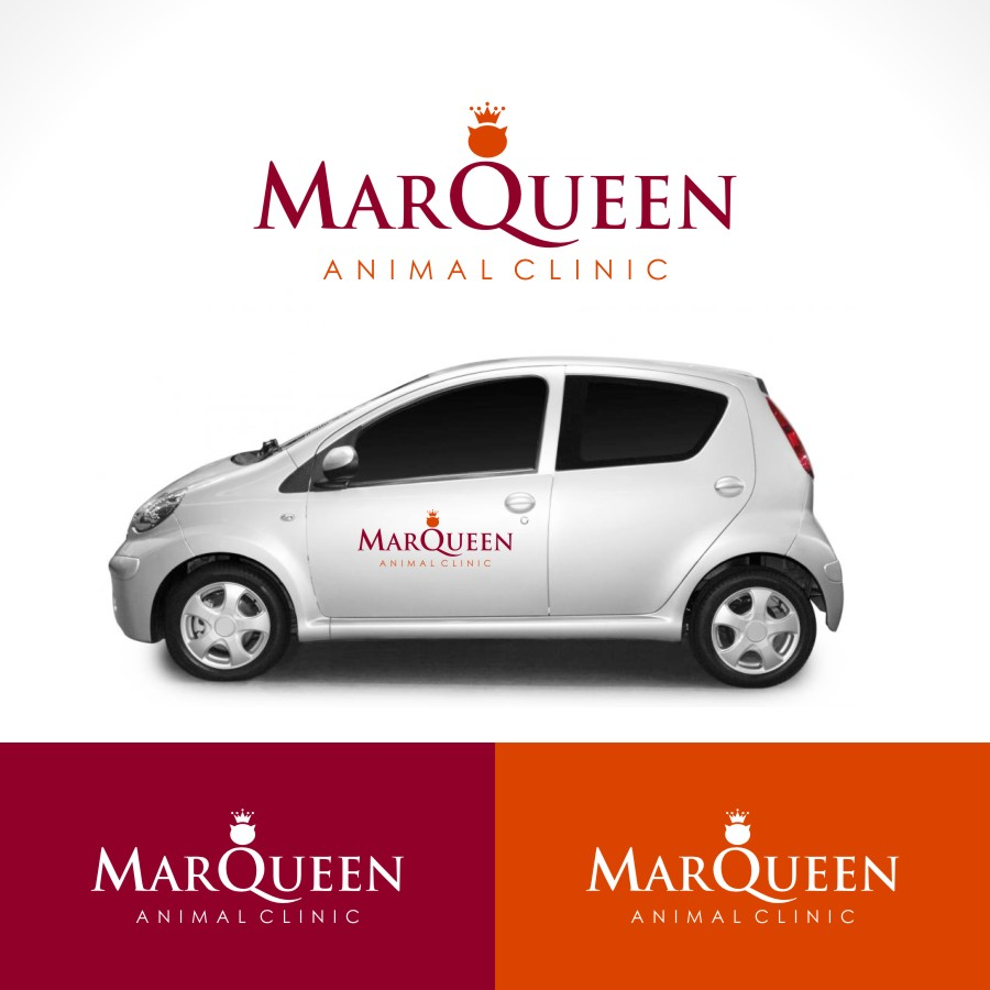 Logo Design by Private User - Entry No. 62 in the Logo Design Contest Fun Logo Design for MarQueen Animal Clinic.