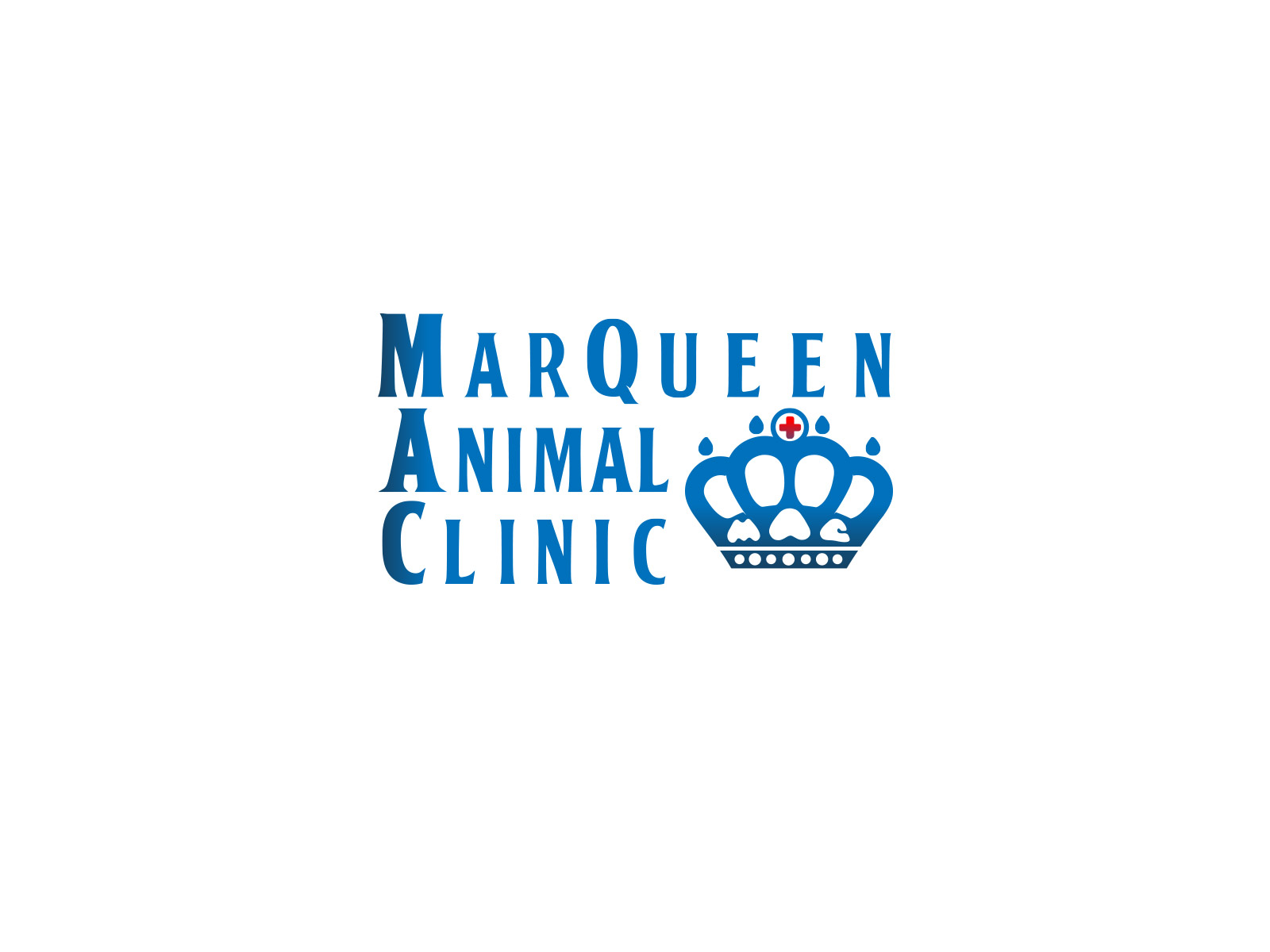 Logo Design by olii - Entry No. 64 in the Logo Design Contest Fun Logo Design for MarQueen Animal Clinic.