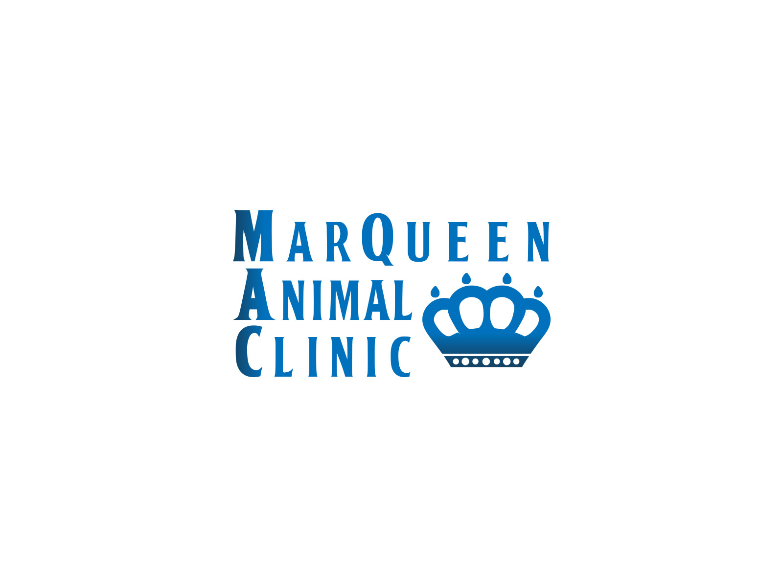 Logo Design by olii - Entry No. 65 in the Logo Design Contest Fun Logo Design for MarQueen Animal Clinic.