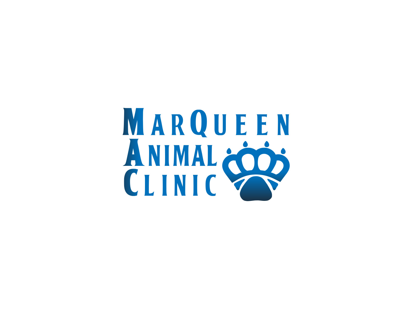 Logo Design by olii - Entry No. 66 in the Logo Design Contest Fun Logo Design for MarQueen Animal Clinic.