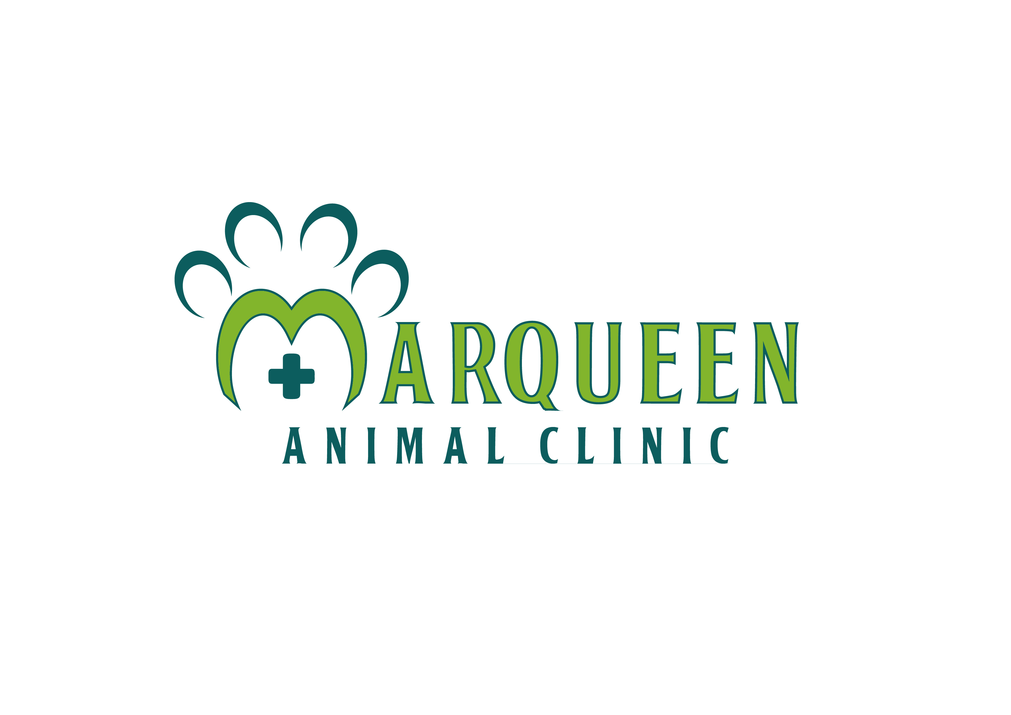 Logo Design by 3draw - Entry No. 68 in the Logo Design Contest Fun Logo Design for MarQueen Animal Clinic.