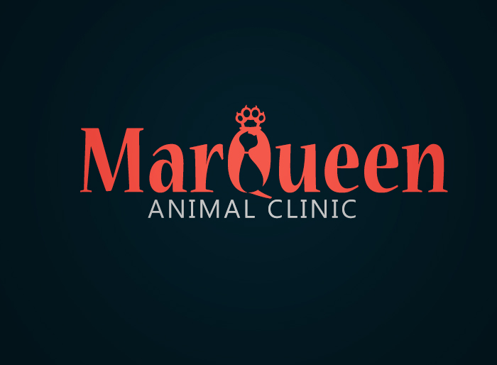 Logo Design by Jan Chua - Entry No. 69 in the Logo Design Contest Fun Logo Design for MarQueen Animal Clinic.