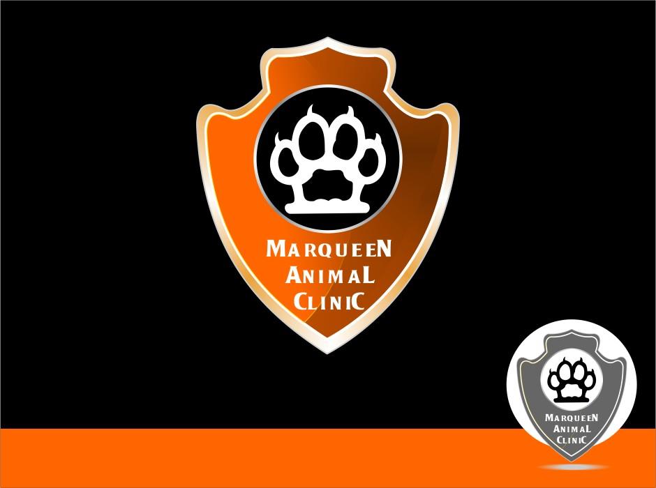 Logo Design by Crispin Jr Vasquez - Entry No. 70 in the Logo Design Contest Fun Logo Design for MarQueen Animal Clinic.