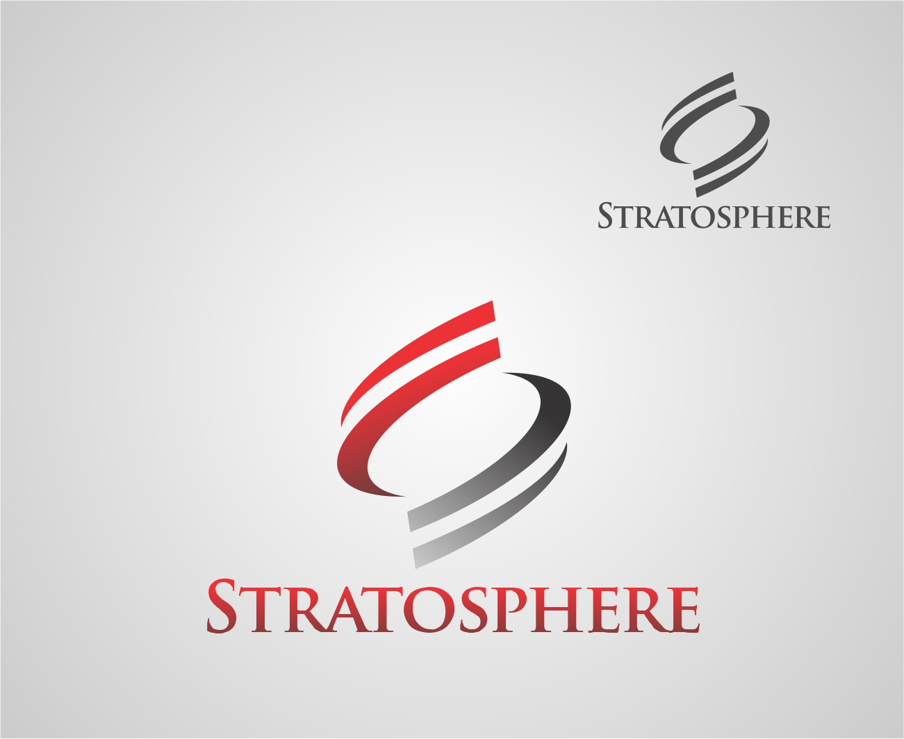 Logo Design by Reivan Ferdinan - Entry No. 45 in the Logo Design Contest Captivating Logo Design for Stratosphere.