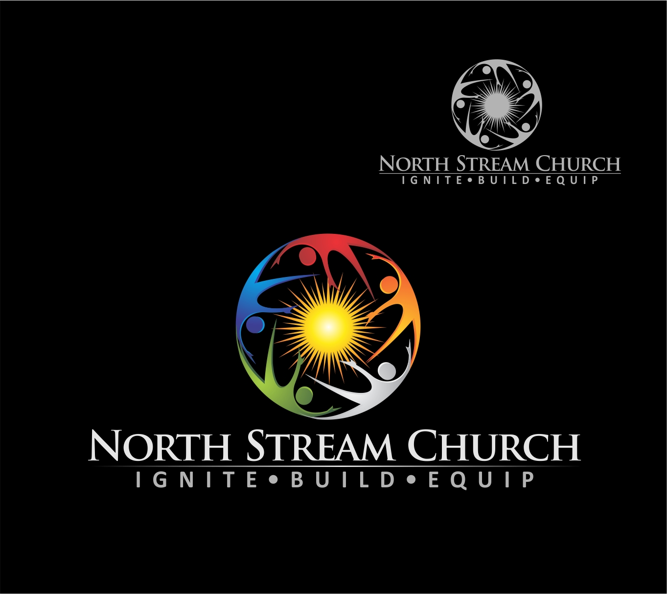 Logo Design by Reivan Ferdinan - Entry No. 30 in the Logo Design Contest Creative Logo Design for North Stream Church.