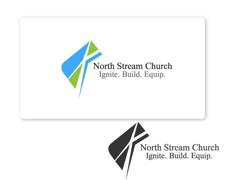 Logo Design by Private User - Entry No. 31 in the Logo Design Contest Creative Logo Design for North Stream Church.