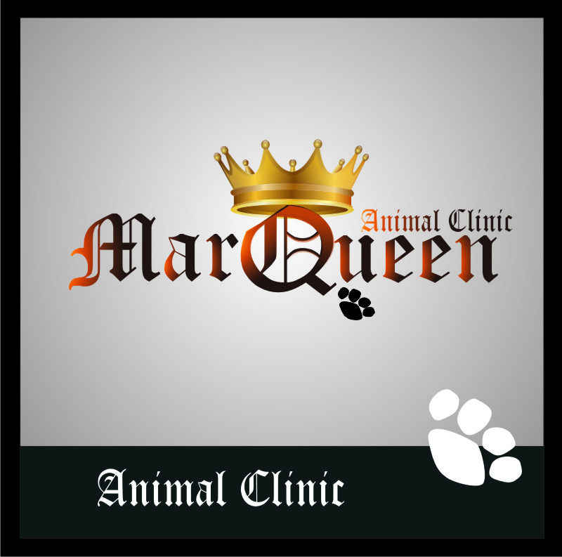 Logo Design by Bangun Prastyo - Entry No. 78 in the Logo Design Contest Fun Logo Design for MarQueen Animal Clinic.