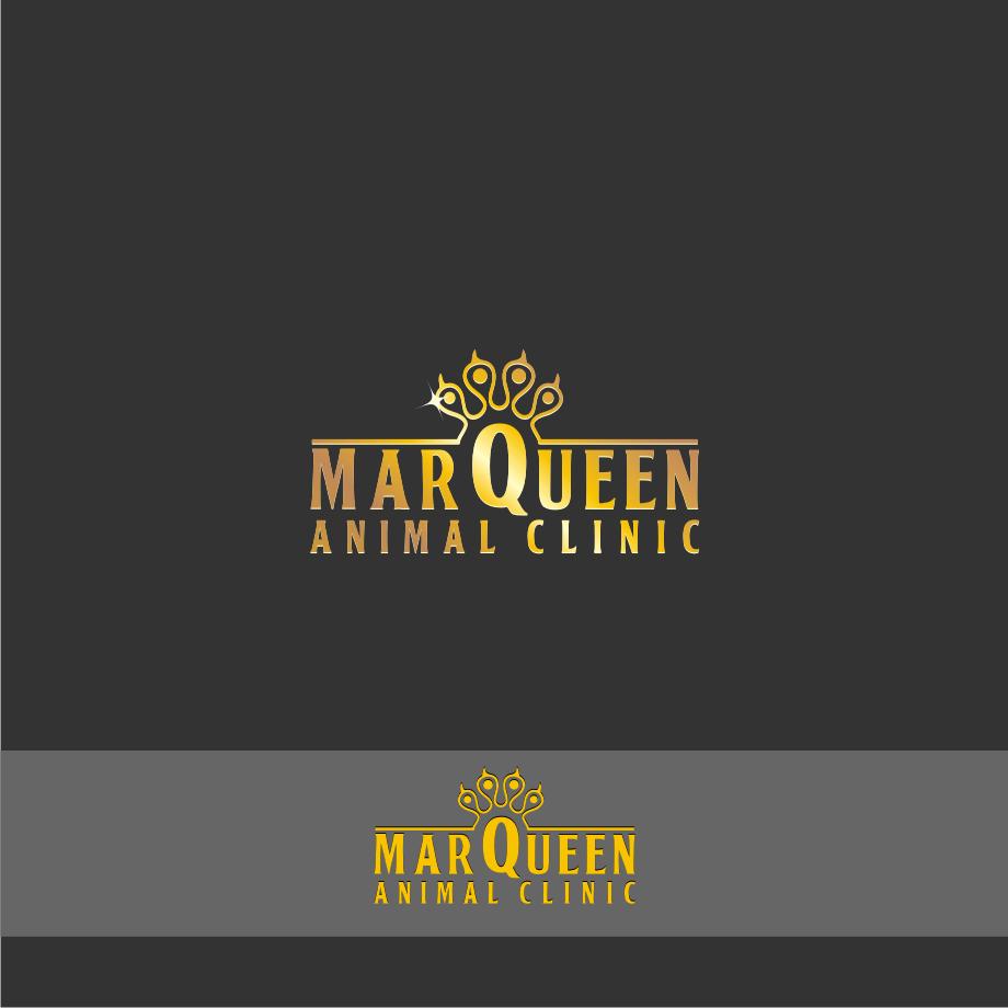 Logo Design by Muhammad Nasrul chasib - Entry No. 79 in the Logo Design Contest Fun Logo Design for MarQueen Animal Clinic.