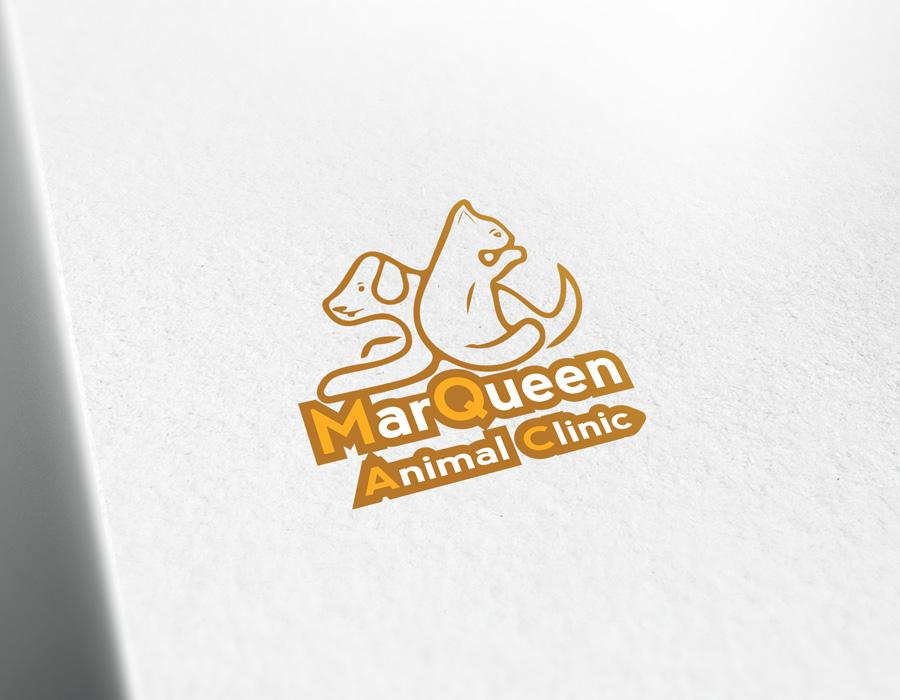 Logo Design by Adnan Younus - Entry No. 81 in the Logo Design Contest Fun Logo Design for MarQueen Animal Clinic.