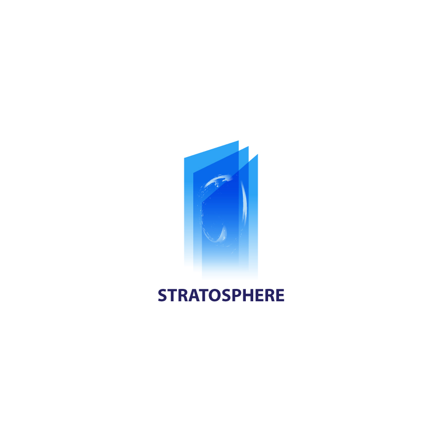 Logo Design by danelav - Entry No. 48 in the Logo Design Contest Captivating Logo Design for Stratosphere.