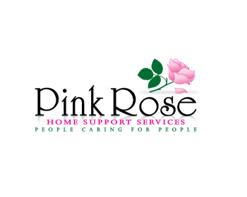 Logo Design by Gmars - Entry No. 124 in the Logo Design Contest Pink Rose Home Support Services.