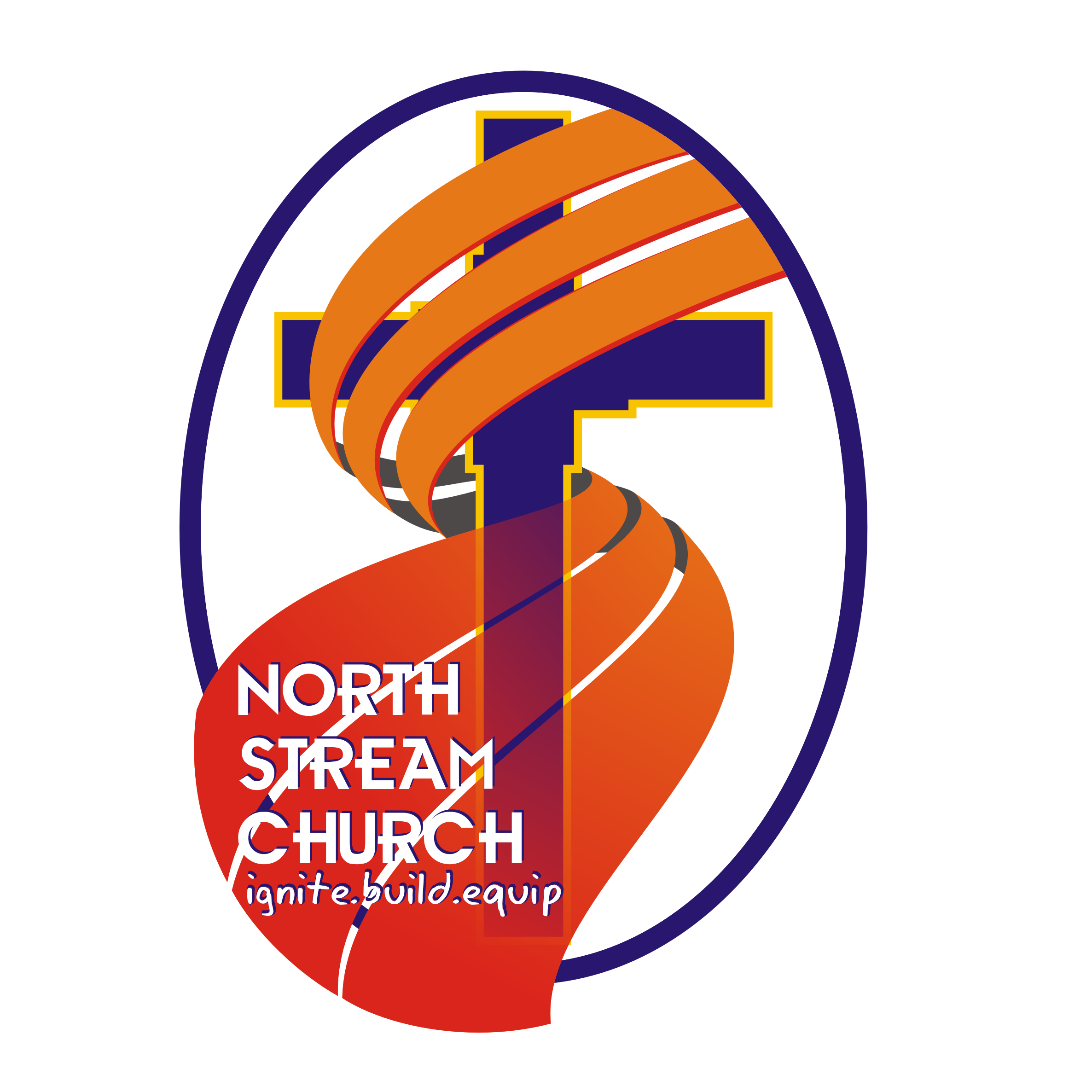 Logo Design by Private User - Entry No. 45 in the Logo Design Contest Creative Logo Design for North Stream Church.