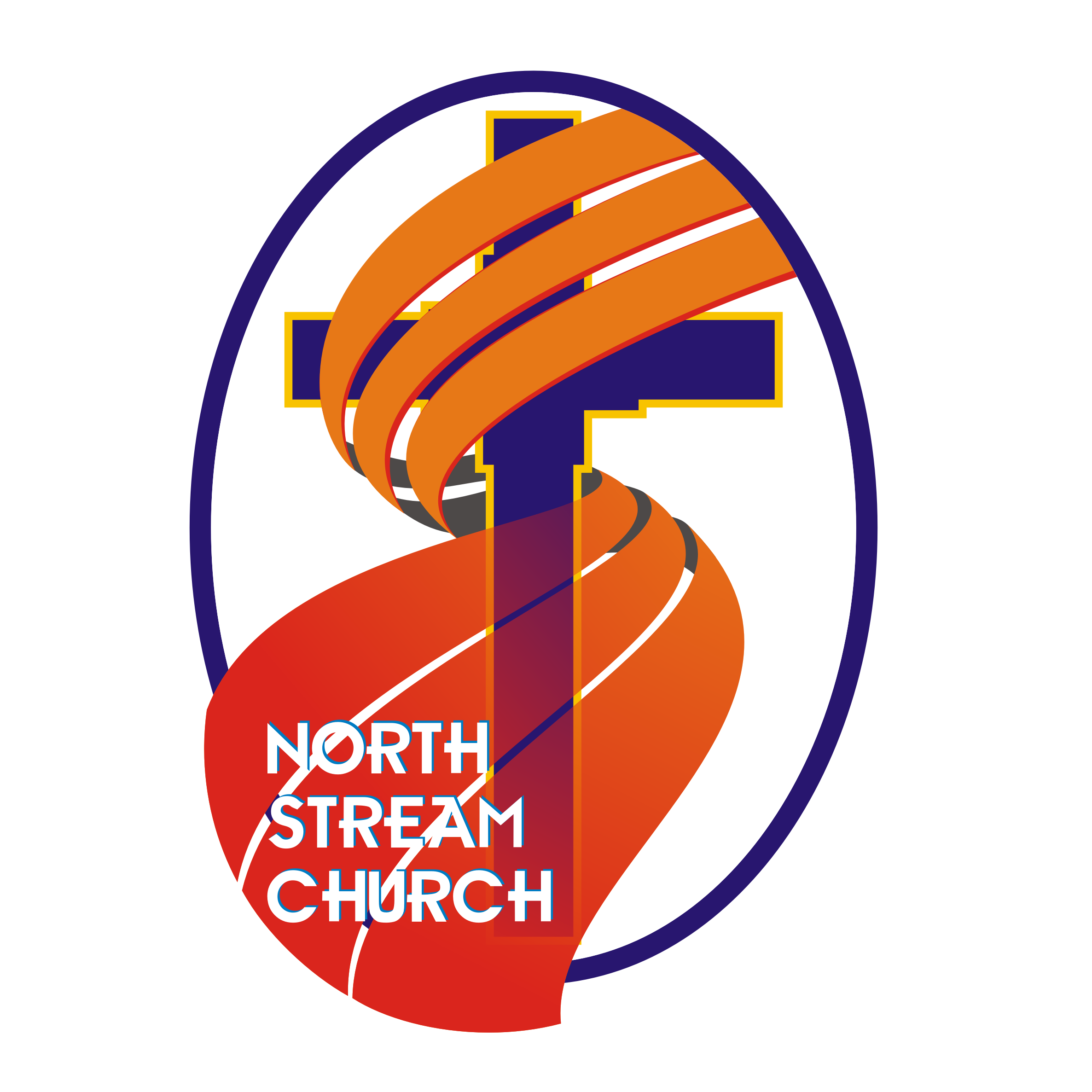 Logo Design by Private User - Entry No. 47 in the Logo Design Contest Creative Logo Design for North Stream Church.