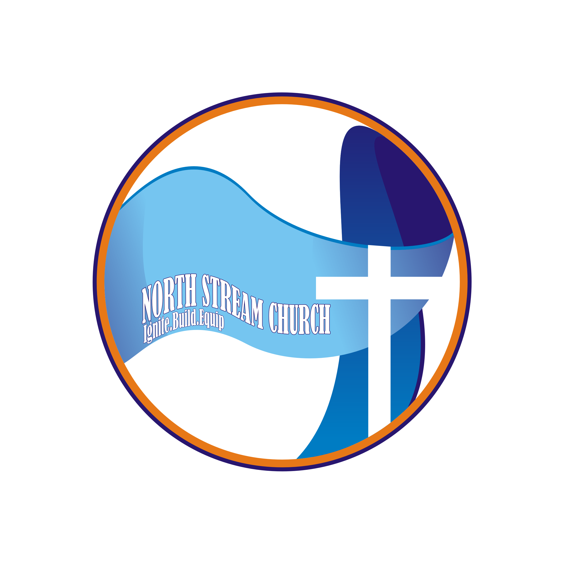 Logo Design by Private User - Entry No. 48 in the Logo Design Contest Creative Logo Design for North Stream Church.