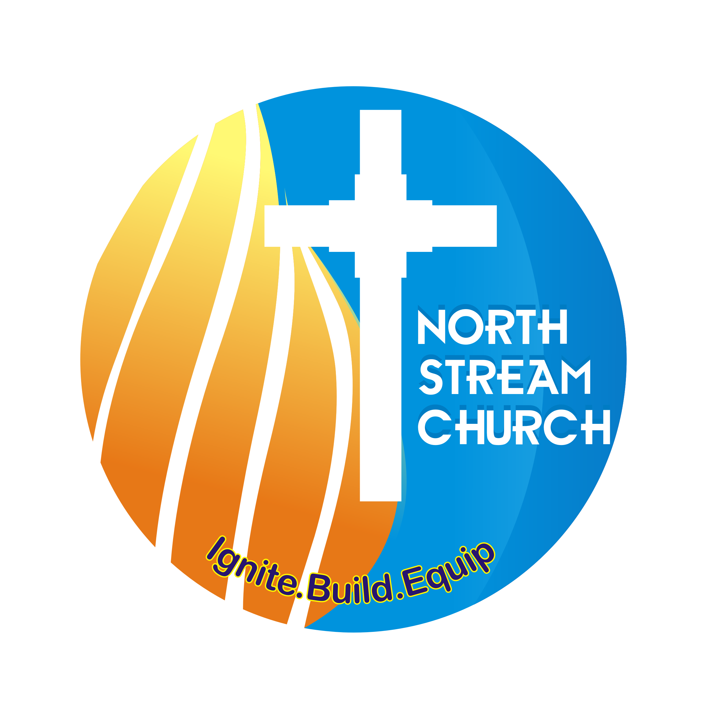 Logo Design by Private User - Entry No. 49 in the Logo Design Contest Creative Logo Design for North Stream Church.