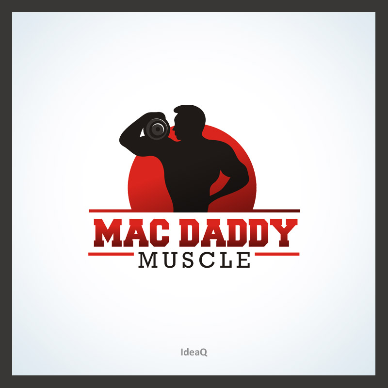 Logo Design by Private User - Entry No. 3 in the Logo Design Contest New Logo Design for Mac Daddy Muscle.