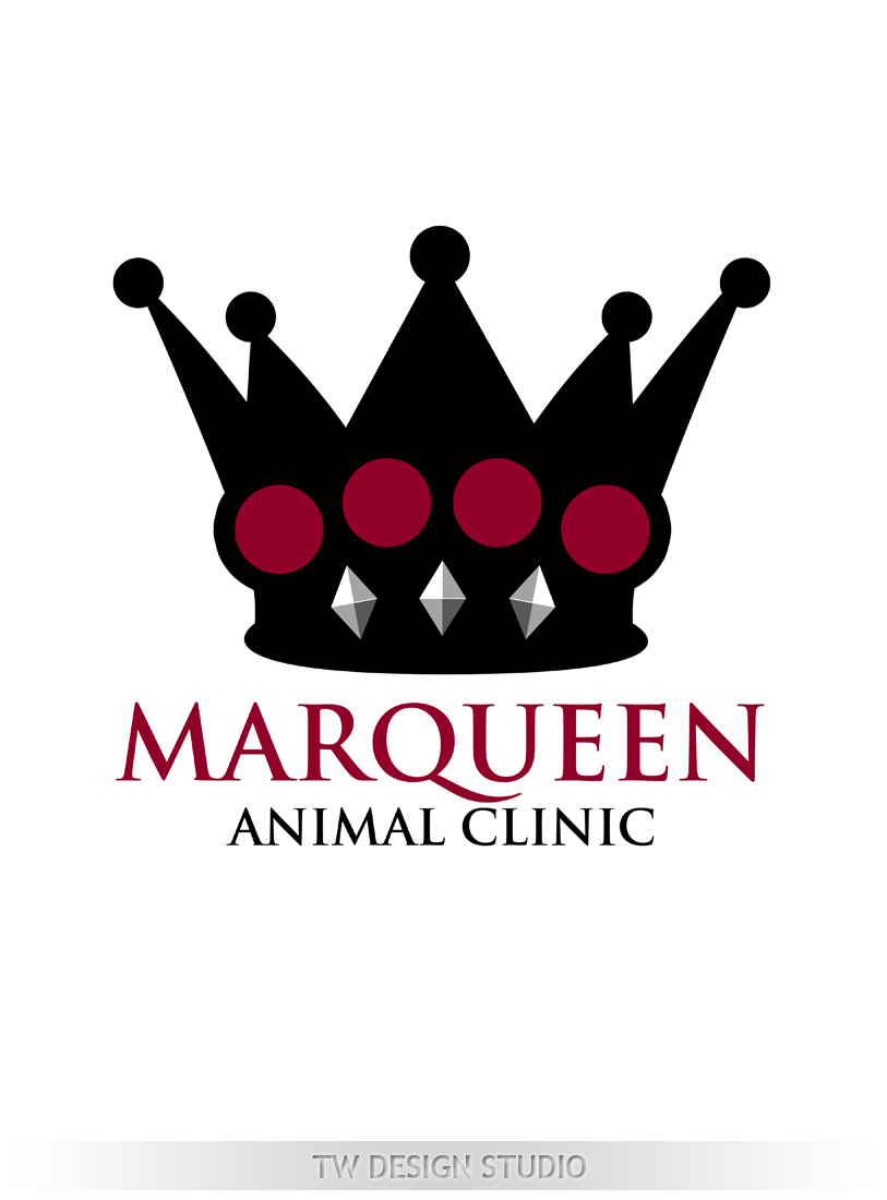Logo Design by Private User - Entry No. 93 in the Logo Design Contest Fun Logo Design for MarQueen Animal Clinic.