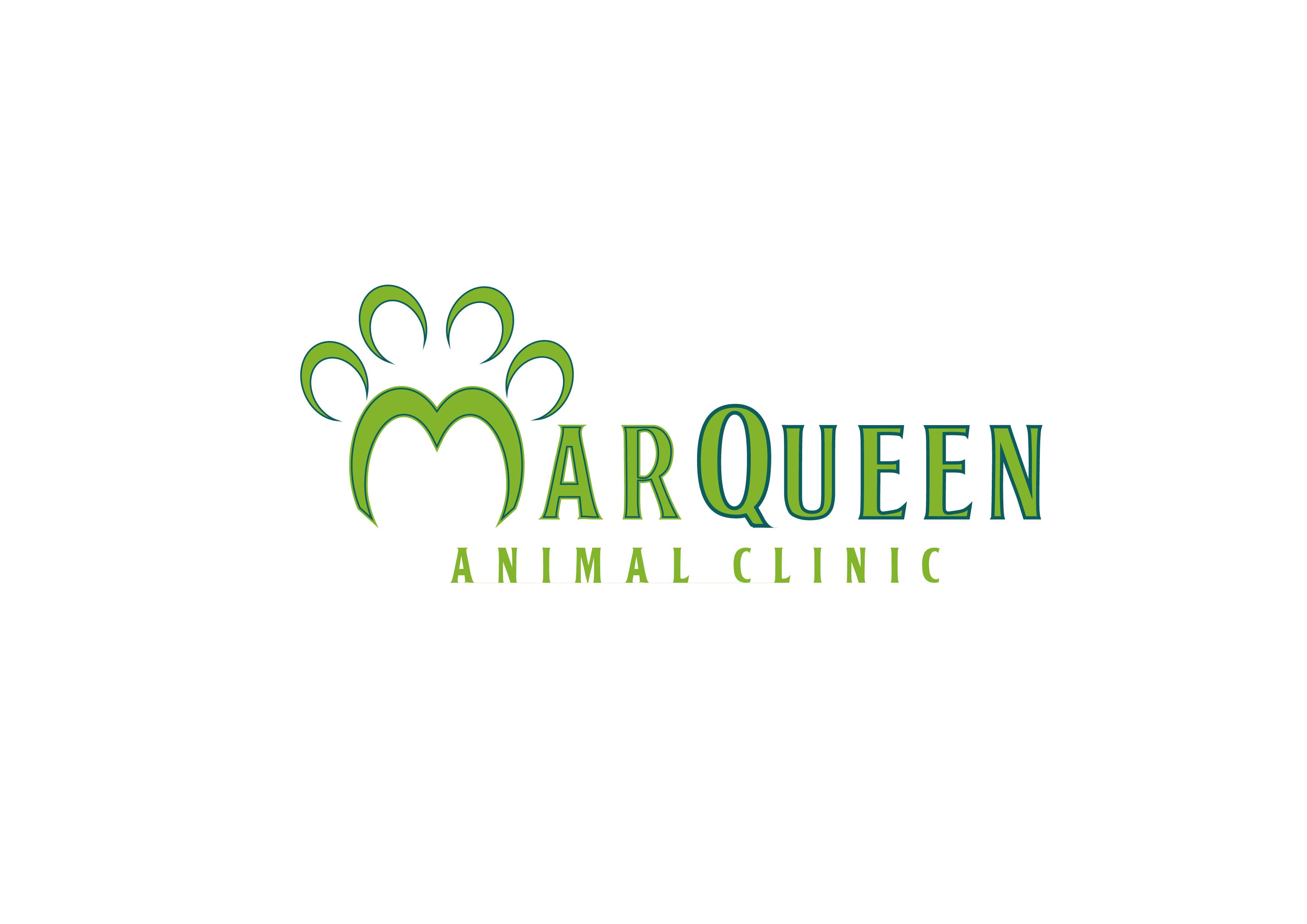 Logo Design by 3draw - Entry No. 101 in the Logo Design Contest Fun Logo Design for MarQueen Animal Clinic.