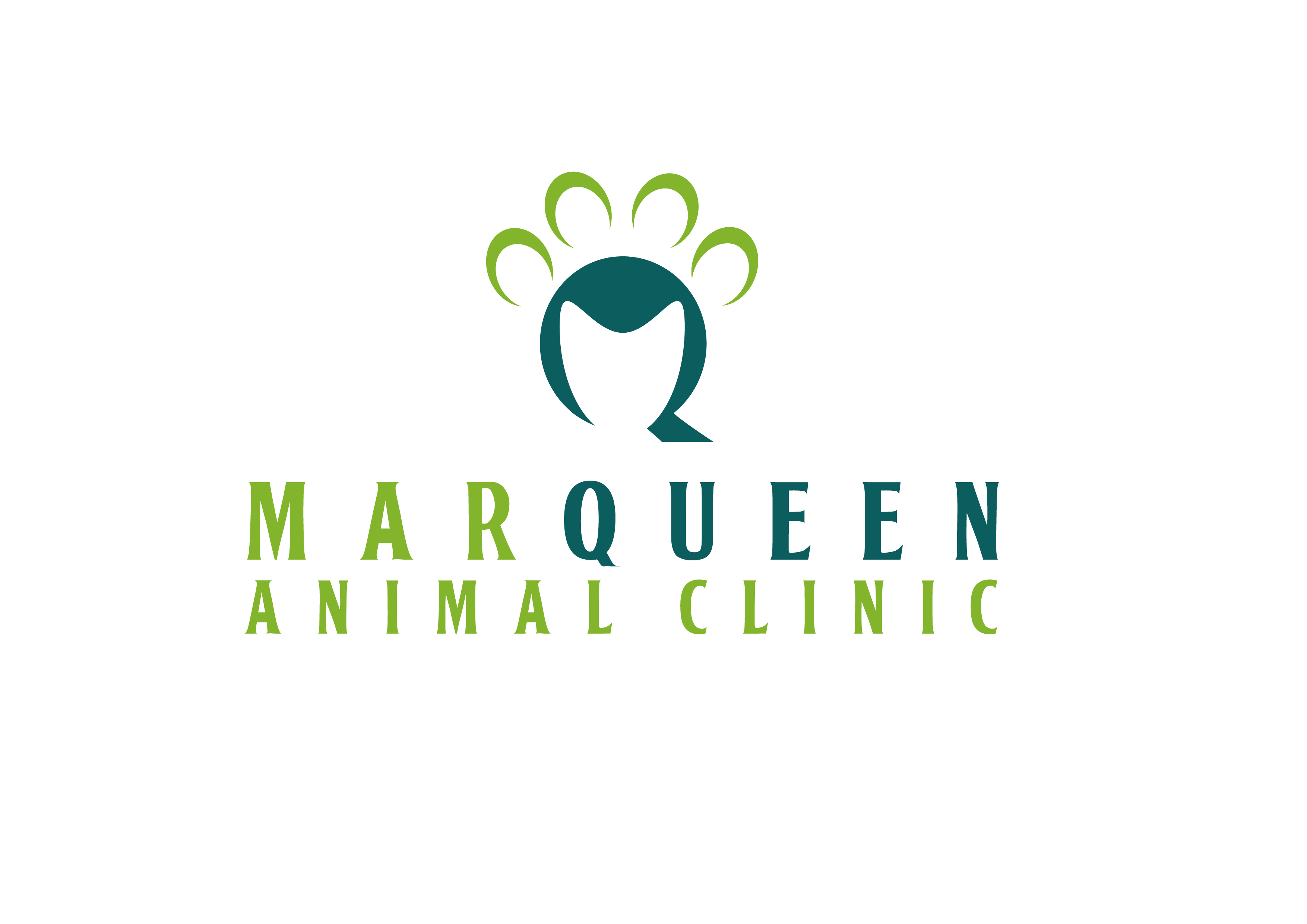 Logo Design by 3draw - Entry No. 102 in the Logo Design Contest Fun Logo Design for MarQueen Animal Clinic.