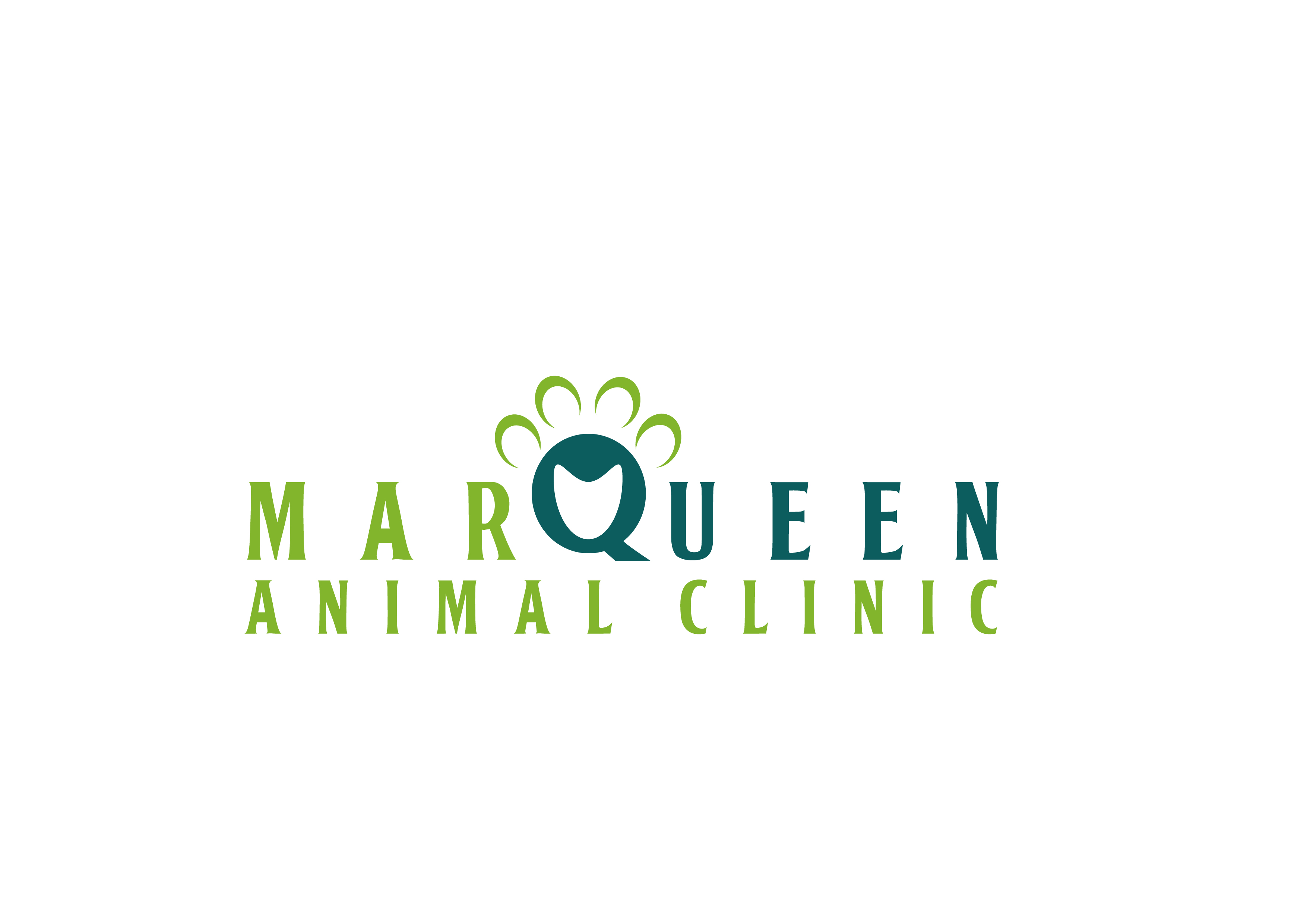 Logo Design by 3draw - Entry No. 103 in the Logo Design Contest Fun Logo Design for MarQueen Animal Clinic.