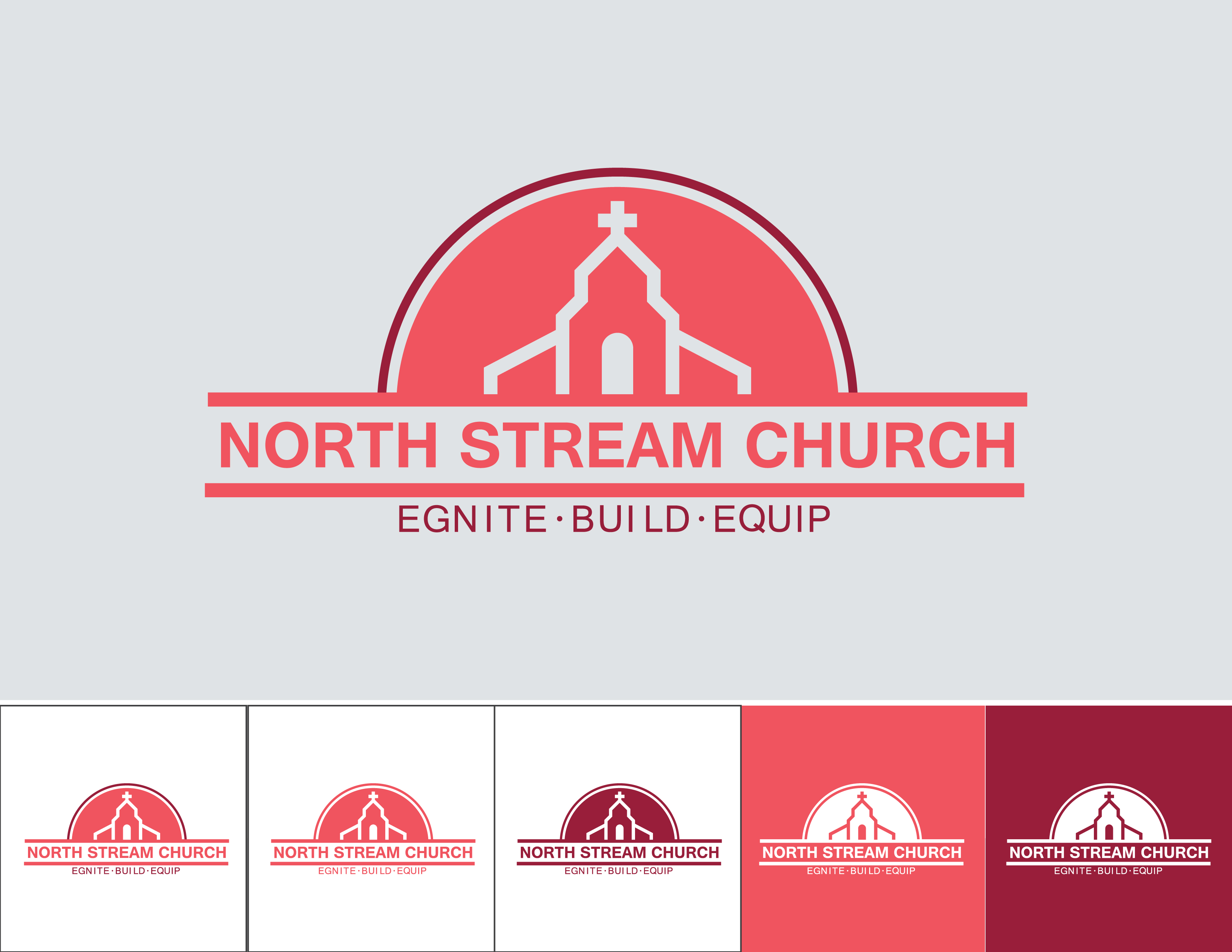 Logo Design by Quirejun Akol - Entry No. 59 in the Logo Design Contest Creative Logo Design for North Stream Church.