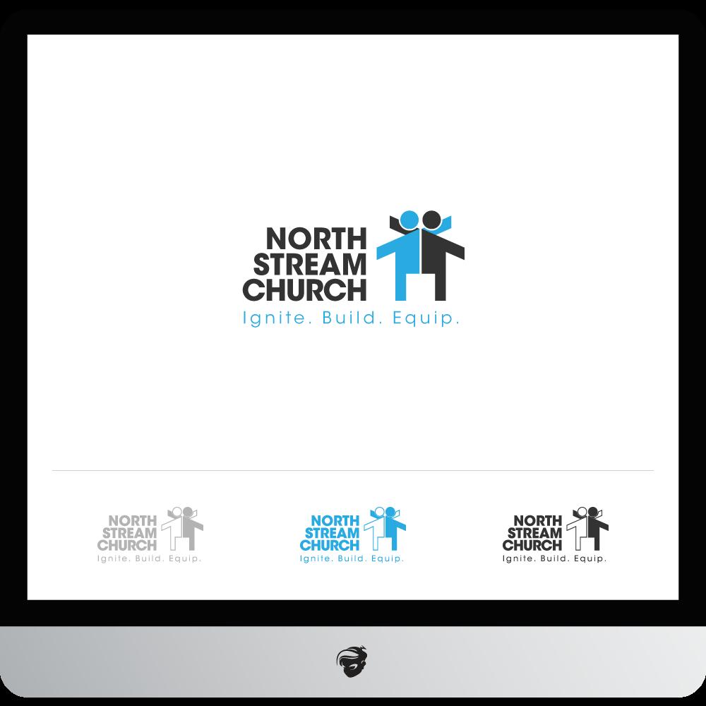 Logo Design by zesthar - Entry No. 65 in the Logo Design Contest Creative Logo Design for North Stream Church.