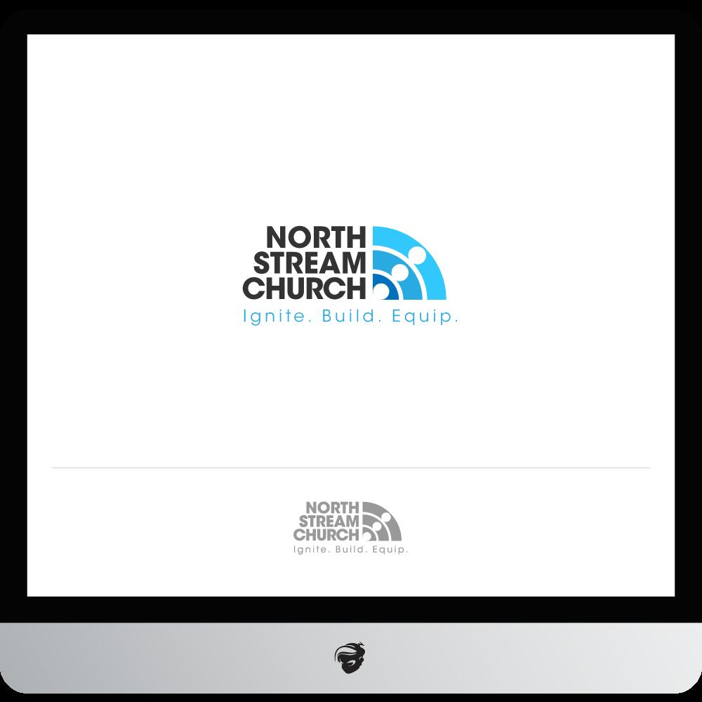 Logo Design by zesthar - Entry No. 66 in the Logo Design Contest Creative Logo Design for North Stream Church.