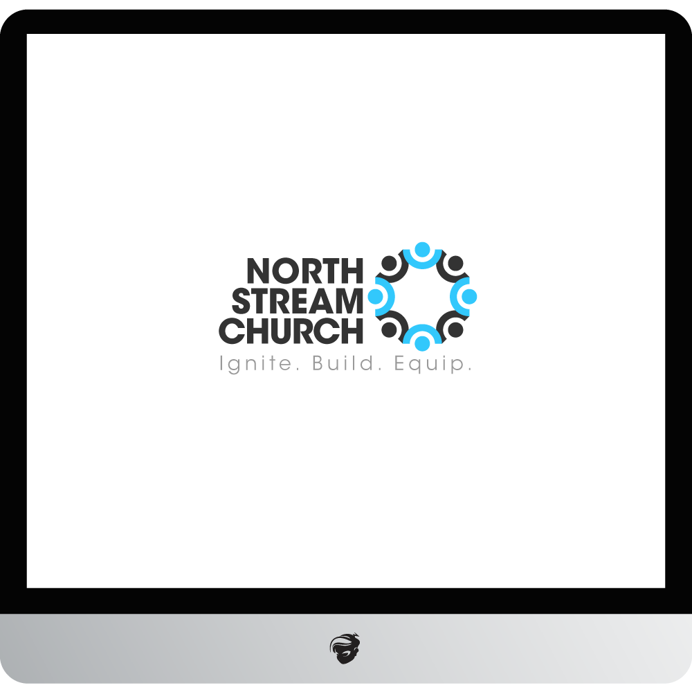 Logo Design by zesthar - Entry No. 68 in the Logo Design Contest Creative Logo Design for North Stream Church.