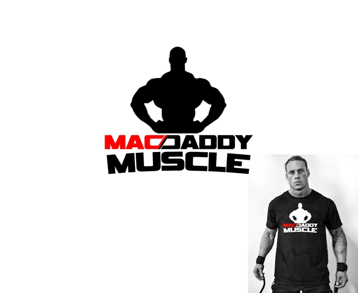 Logo Design by Juan_Kata - Entry No. 13 in the Logo Design Contest New Logo Design for Mac Daddy Muscle.