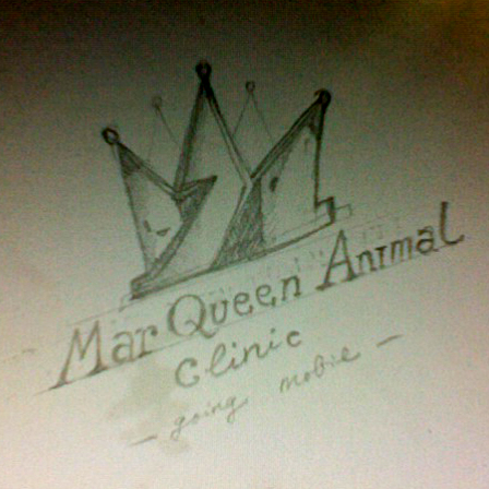Logo Design by Think - Entry No. 113 in the Logo Design Contest Fun Logo Design for MarQueen Animal Clinic.