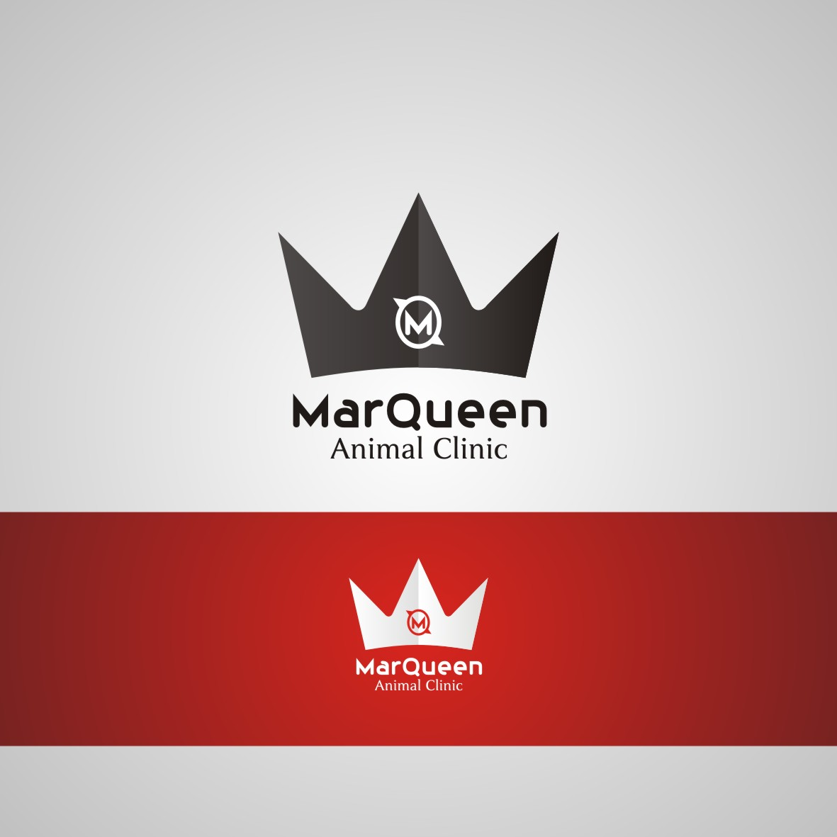 Logo Design by arteo_design - Entry No. 114 in the Logo Design Contest Fun Logo Design for MarQueen Animal Clinic.