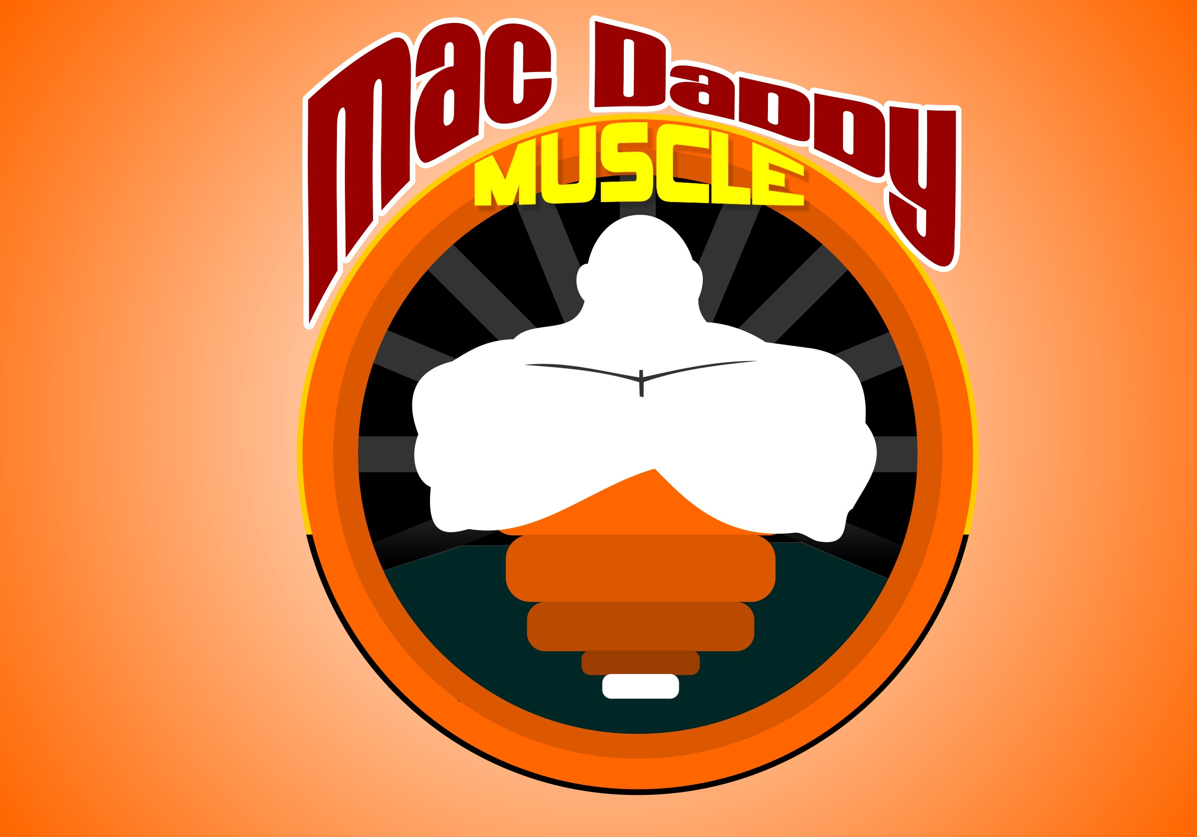 Logo Design by Crispin Jr Vasquez - Entry No. 15 in the Logo Design Contest New Logo Design for Mac Daddy Muscle.
