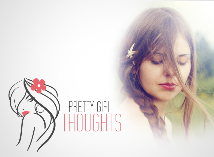 Logo Design by Jan Chua - Entry No. 21 in the Logo Design Contest Inspiring Logo Design for Pretty Girl Thoughts.