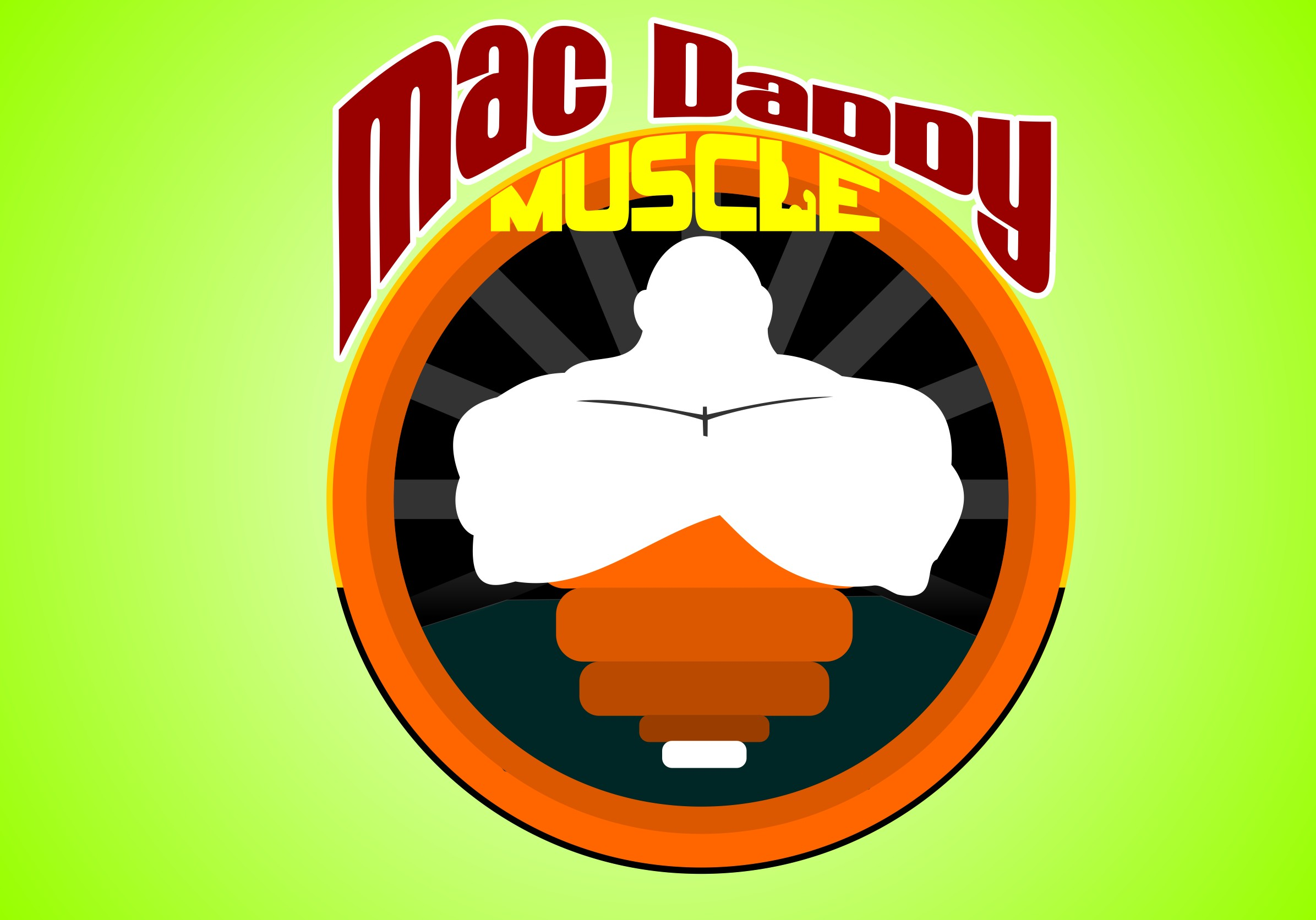 Logo Design by Crispin Jr Vasquez - Entry No. 16 in the Logo Design Contest New Logo Design for Mac Daddy Muscle.