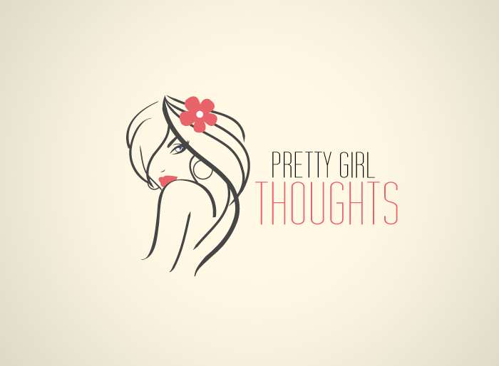 Logo Design by Jan Chua - Entry No. 22 in the Logo Design Contest Inspiring Logo Design for Pretty Girl Thoughts.