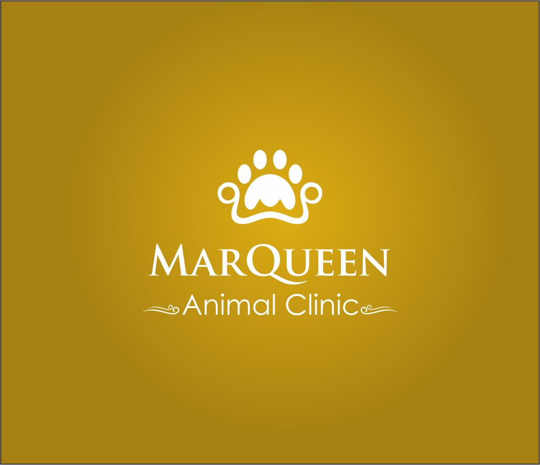 Logo Design by Armada Jamaluddin - Entry No. 115 in the Logo Design Contest Fun Logo Design for MarQueen Animal Clinic.