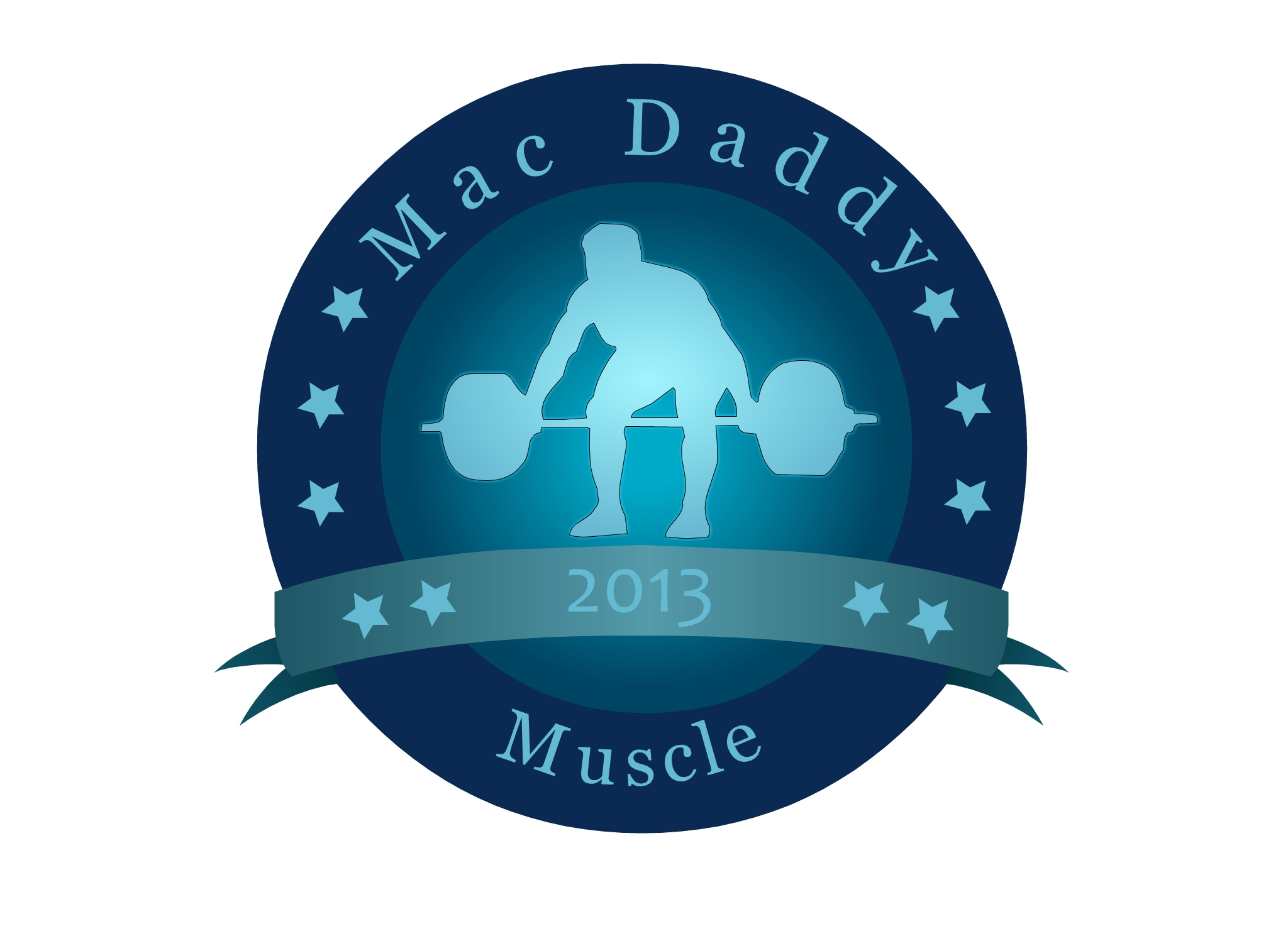 Logo Design by Marco Paulo Jamero - Entry No. 19 in the Logo Design Contest New Logo Design for Mac Daddy Muscle.
