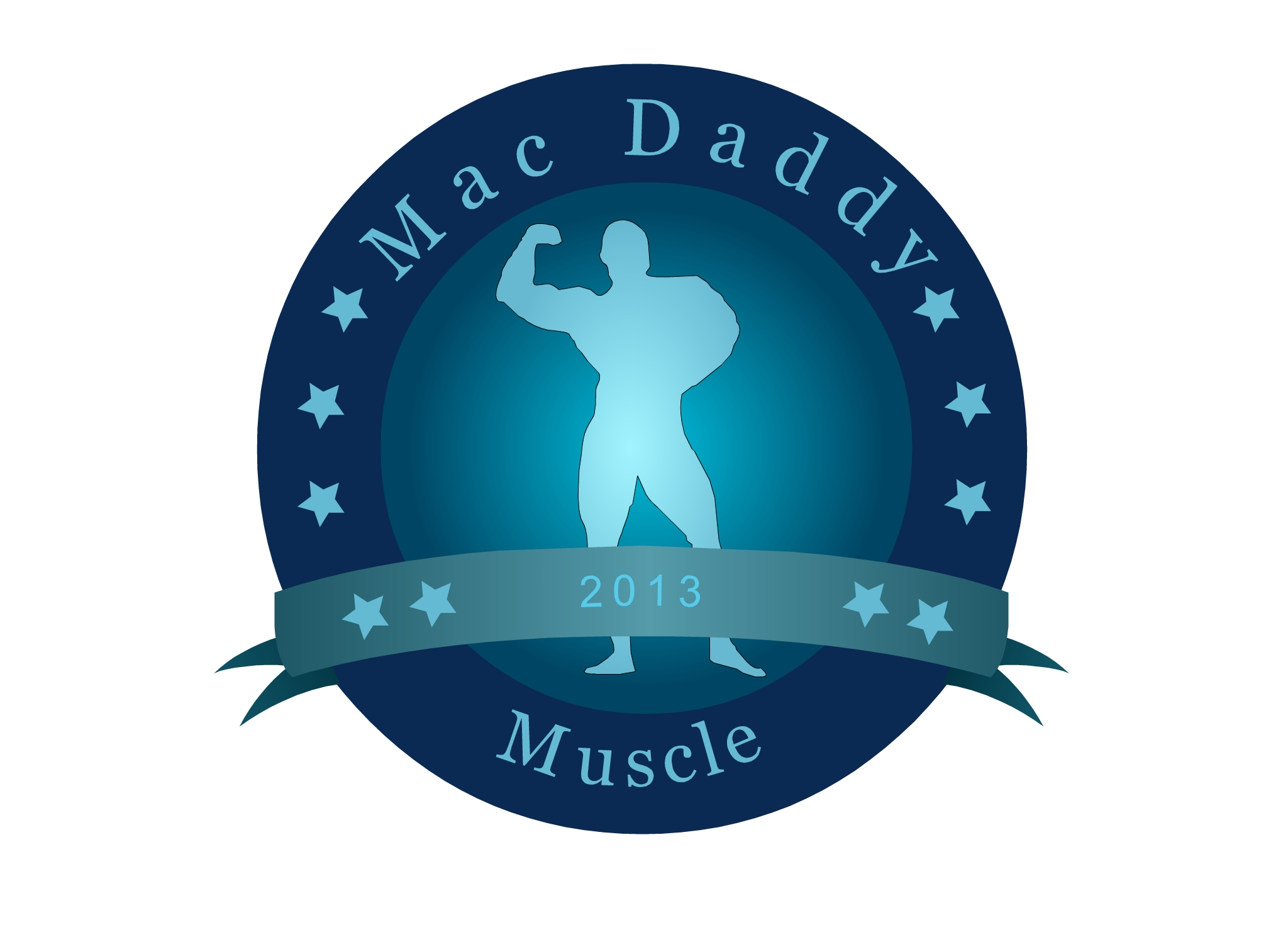 Logo Design by Marco Paulo Jamero - Entry No. 20 in the Logo Design Contest New Logo Design for Mac Daddy Muscle.
