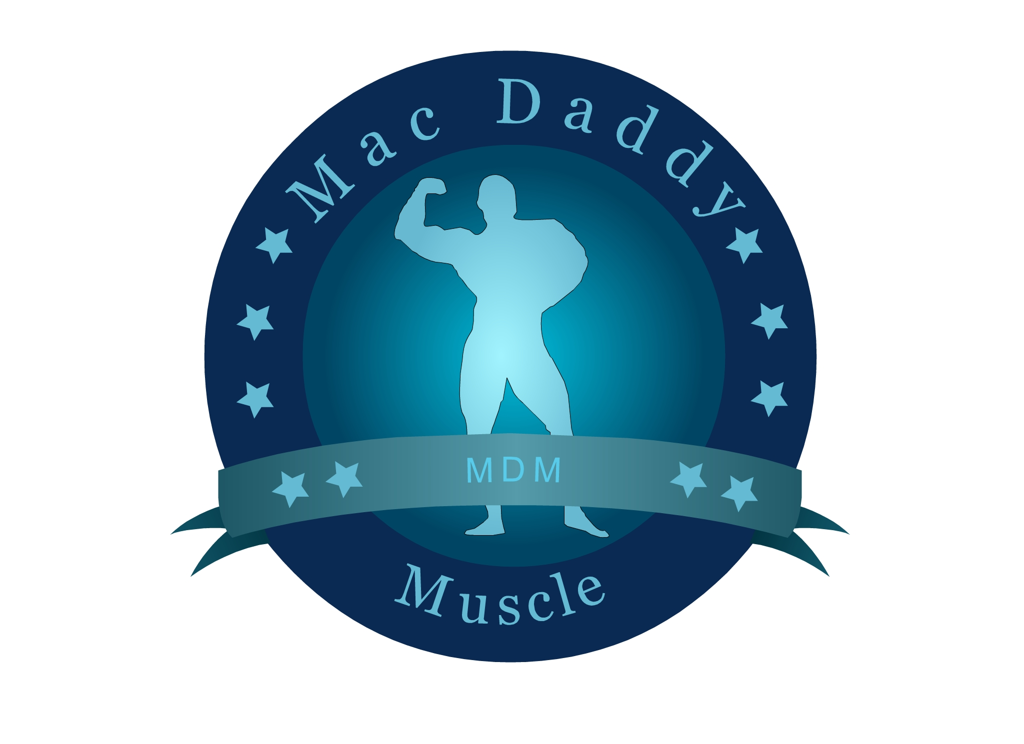 Logo Design by Marco Paulo Jamero - Entry No. 24 in the Logo Design Contest New Logo Design for Mac Daddy Muscle.