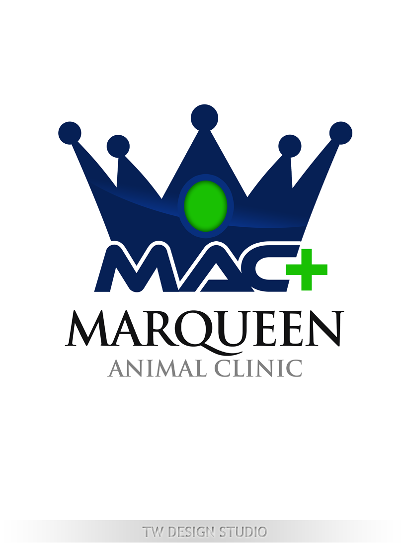 Logo Design by Private User - Entry No. 117 in the Logo Design Contest Fun Logo Design for MarQueen Animal Clinic.