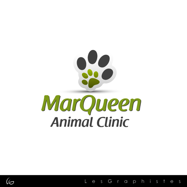 Logo Design by Les-Graphistes - Entry No. 118 in the Logo Design Contest Fun Logo Design for MarQueen Animal Clinic.
