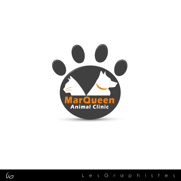 Logo Design by Les-Graphistes - Entry No. 120 in the Logo Design Contest Fun Logo Design for MarQueen Animal Clinic.