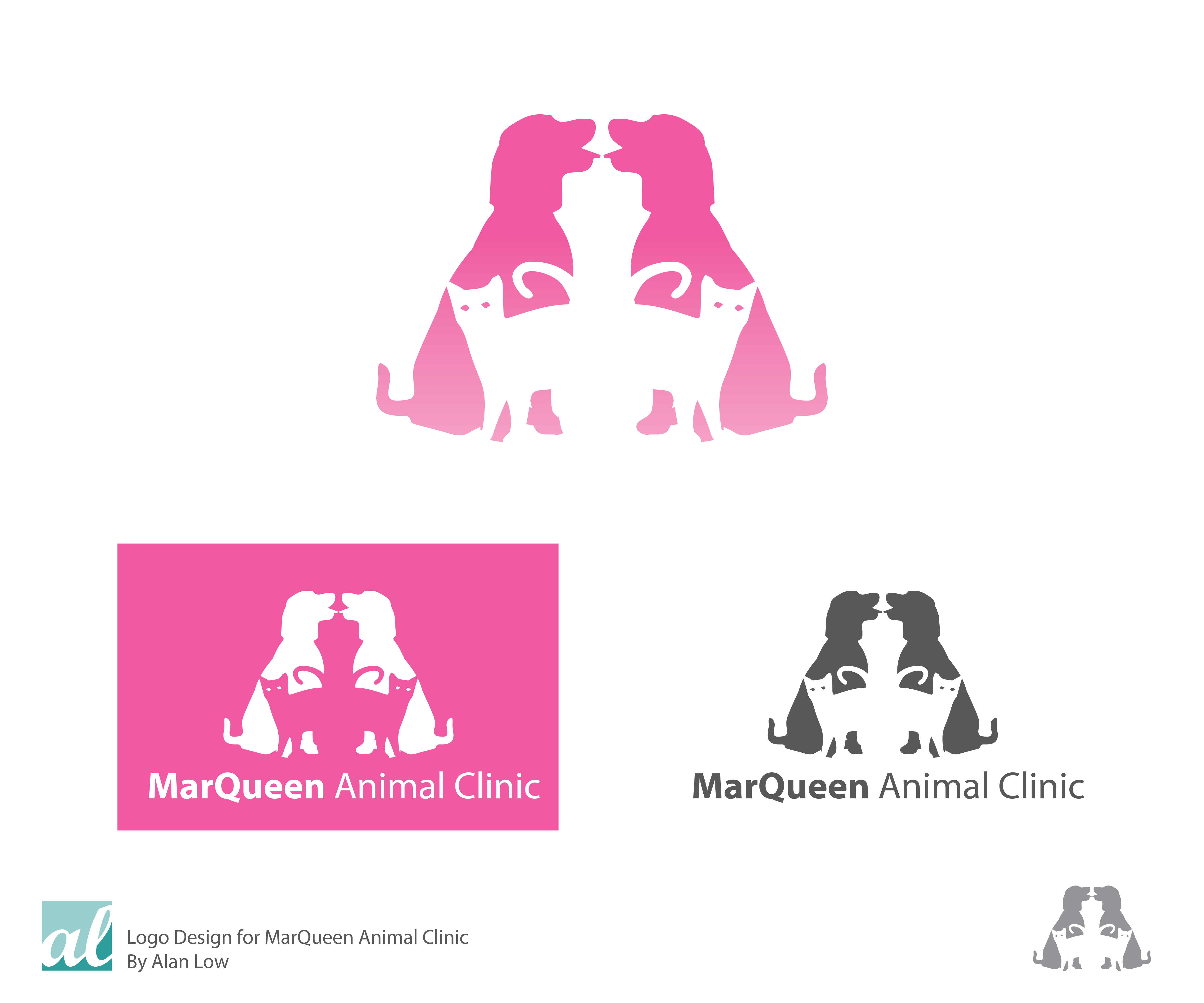 Logo Design by Alan Low - Entry No. 123 in the Logo Design Contest Fun Logo Design for MarQueen Animal Clinic.