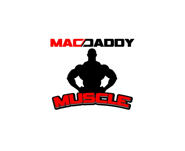 Logo Design by Juan_Kata - Entry No. 26 in the Logo Design Contest New Logo Design for Mac Daddy Muscle.
