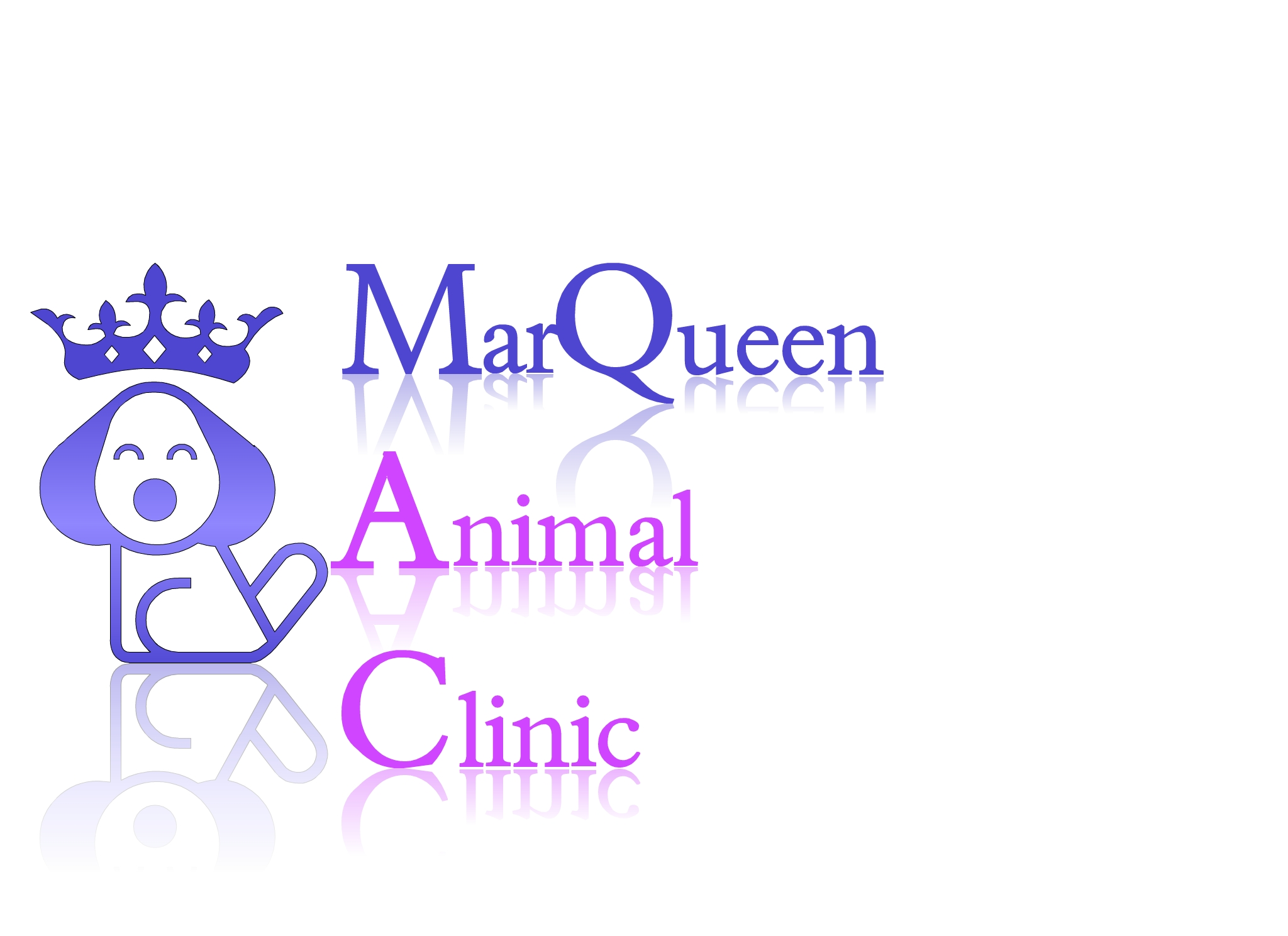 Logo Design by Marco Paulo Jamero - Entry No. 130 in the Logo Design Contest Fun Logo Design for MarQueen Animal Clinic.