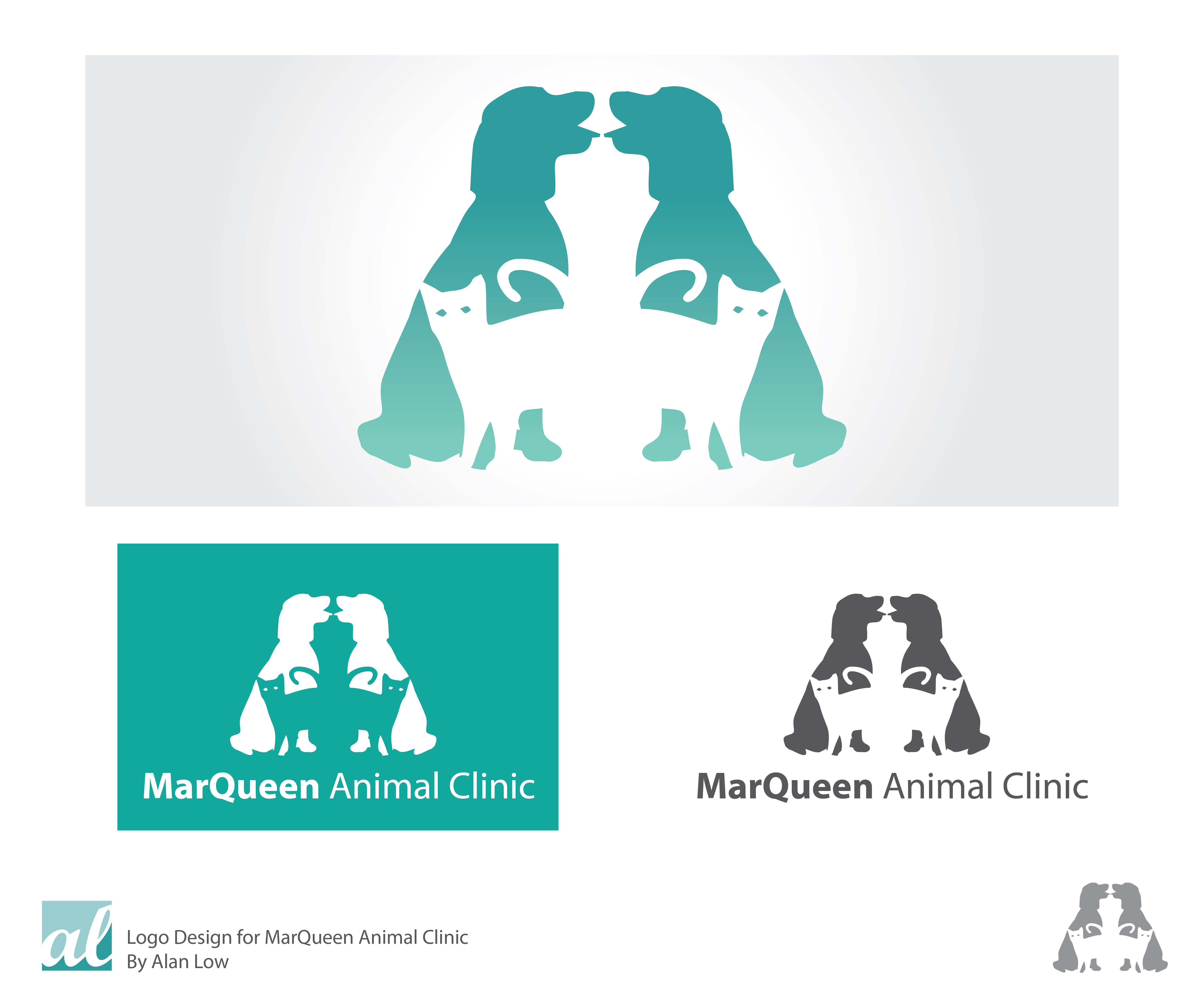 Logo Design by Alan Low - Entry No. 136 in the Logo Design Contest Fun Logo Design for MarQueen Animal Clinic.