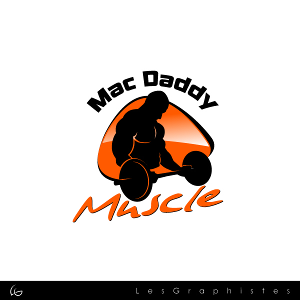 Logo Design by Les-Graphistes - Entry No. 29 in the Logo Design Contest New Logo Design for Mac Daddy Muscle.