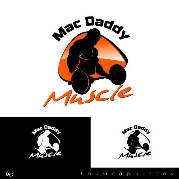 Logo Design by Les-Graphistes - Entry No. 30 in the Logo Design Contest New Logo Design for Mac Daddy Muscle.