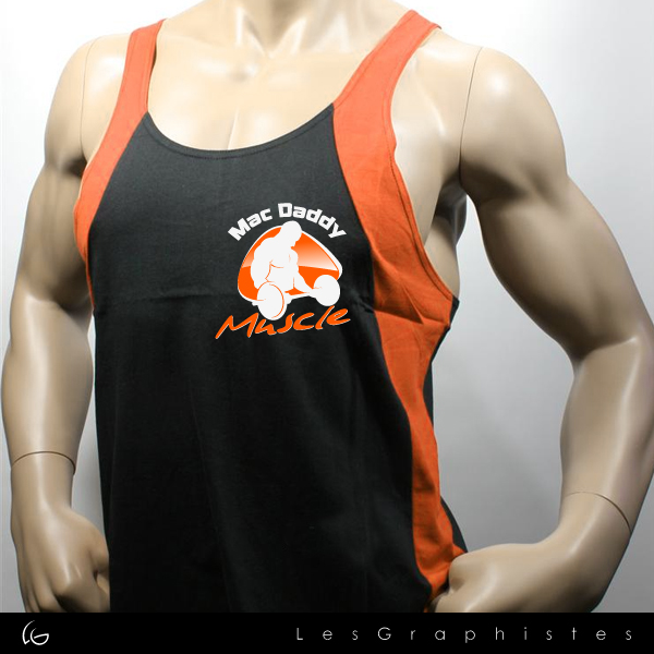 Logo Design by Les-Graphistes - Entry No. 31 in the Logo Design Contest New Logo Design for Mac Daddy Muscle.
